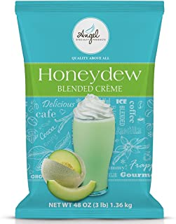 Honeydew Blended Crème Mix by Angel Specialty Products [3 LB]