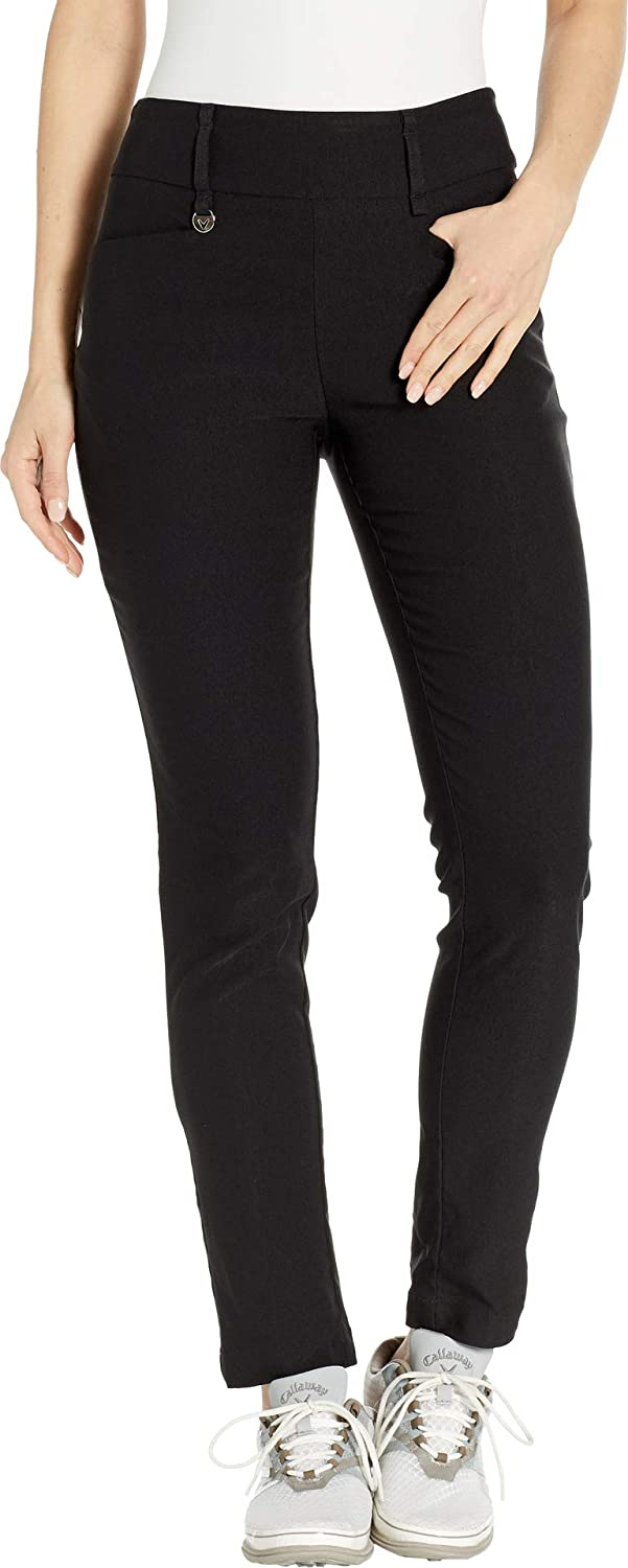 Callaway Women's Performance Flat Front Tech Pant with Stretch