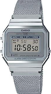 comprar comparacion Casio Reloj Mujer de Digital con Correa en Acero Inoxidable A700WEM-7AEF
