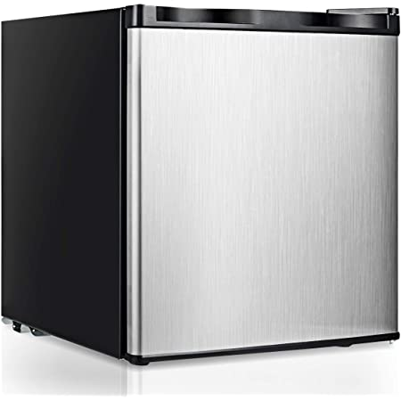 Northair Upright Freezer with 3.0 Cubic Feet Capacity Removable Shelf Adjustable Thermostat Compact Reversible Single Door Vertical Freezers for Home//Hotel//Apartment//Office