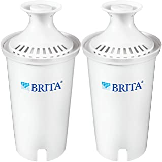 Brita Standard Water Filter, Standard Replacement Filters for Pitchers and Dispensers, BPA Free - 2 Count