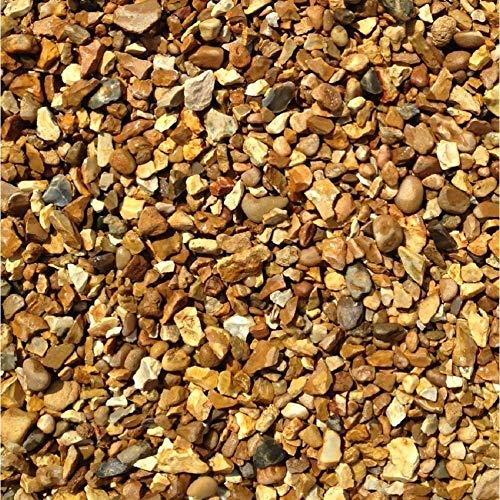 Decorative Aggregate Golden Gravel CHIPPINGS 10MM 25kg Bag