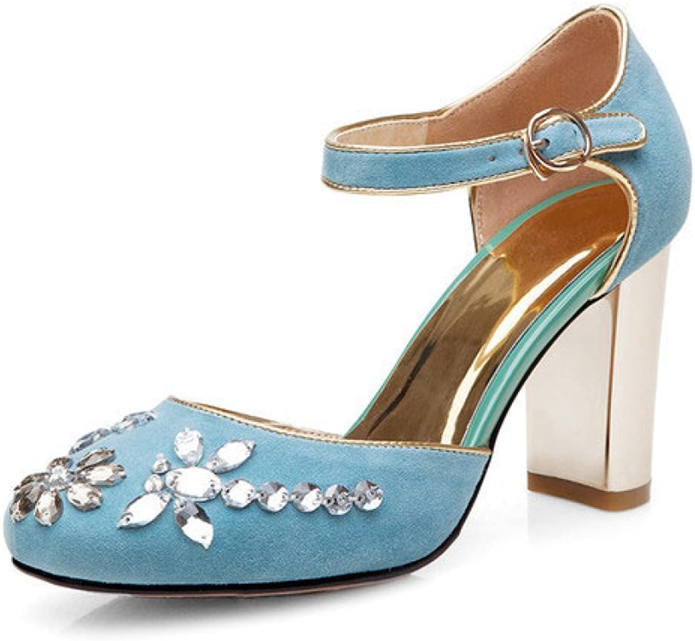DKFJKI Lady Heels Mary Jane Schuhe Mode Strass Sandalen Sandalen Pumps Kleider  offizielle Website