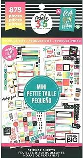 Me & My Big Ideas MAMPPSV3048.32 Create 365 Big Mini Productivity HP Sticker Value Pack