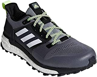 Men's Supernova Trail Running Shoes Grey Three/Cloud White/Core Black