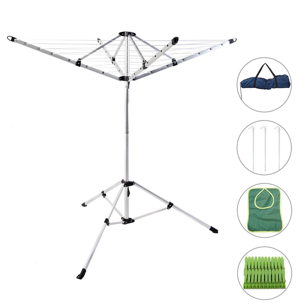 Drynatural Foldable Umbrella Clothes Aluminum