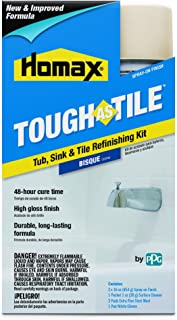 Tub and Tile Refinishing Kit, Bisque, 32 oz, Aerosol, Tough as Tile Kit