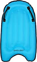 "OMOUBOI Body Boards for Kids Surfing Pool Floats 30"" Inflatable Surf Boards Mini Adults Surfboard Bodyboard"