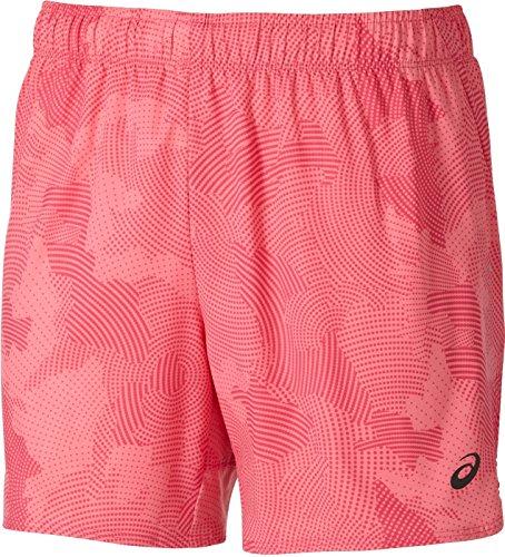ASICS L2 - Pantalones Cortos de 14 cm para Mujer, Color Azul, Talla S