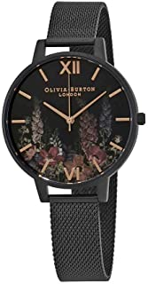 Olivia Burton After Dark Black Dial Ladies Watch OB16AD29