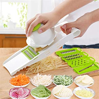 GJJSZ Coupe-légumes,Coupe-légumes,Coupe-Pommes de Terre à la Maison,Coupe-Pommes de Terre Multifonction,Cuisine en Acier I...