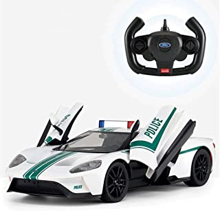 Mopoq Police Car Version Of The Remote Control Car Can Open The Door USB Charging Electric Drift Racing Children's Toy Car...