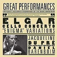 Elgar: Cello Concerto; Enigma Variations; Pomp and Circumstance Marches No. 1 & 4 by Daniel Barenboim, London Philharmonic Orchestra, The Philadelphia Orchestra Jacqueline du Pr茅 (2005-10-18)
