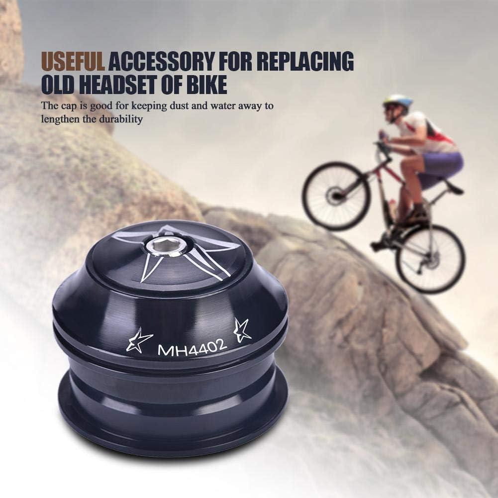 Yosoo Health Gear Cuffia per Bicicletta Lega di Alluminio Bicicletta Anteriore Stelo Cuffia Cuscinetto Cuffia Ricambio Accessori Riciclaggio