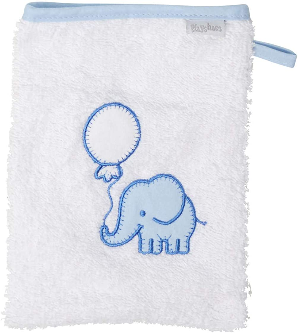 Playshoes 340096-117 Frottee-Waschhandschuh Elefant