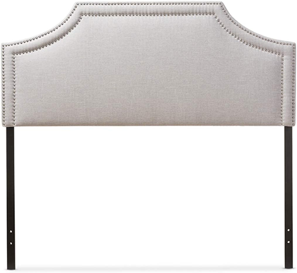 Baxton Studio Avignon Headboard Full Beige OFFicial sold out