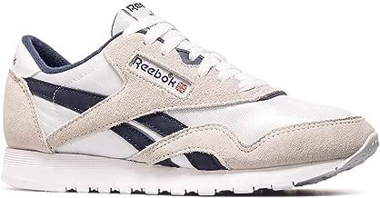Reebok Men's Cl Nylon M Fitness Shoes, Multicoloured (Archive/White/Collegiate Navy Blue 000), 9 9 UK