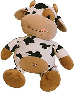 FFXZL Cute Stuffed Animal Cow Soft Toy Cute Plush Cow Toy Cartoon Cattle Plush Stuffed Animals Cattle Soft Doll Kids Toys ...