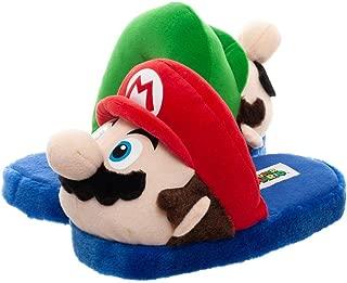 Mario and Luigi Slippers Super Mario Accessories Mario & Luigi Slippers