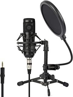 ZINGYOU Condenser Microphone ZY-801+, Professional Studio...