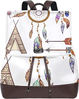 FANTAZIO Mochila Boho Element Dream Catcher Bolsa de Viaje