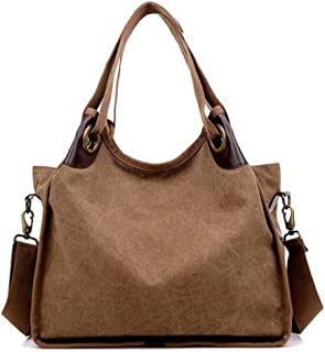 Cocaker Women Handbags Hobo Canvas Shoulder Tote Bags Shopper Handbags Large Fashion Handbags for Women GP316