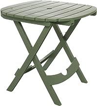 Adams Manufacturing 8550-01-3700 Quik-Fold Cafe Table, Sage
