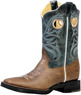 US Boots - Rugged Country BO-6500-EEE (Strong Foot) - Men's - Leather - Blue