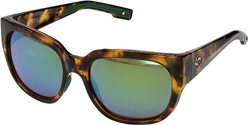 Green Mirror 580G/Shiny Palm Tortoise Frame