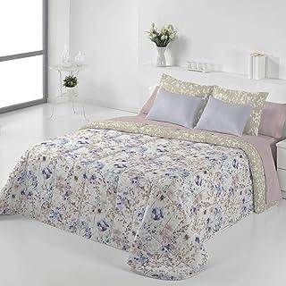 Tejidos Jvr - Edredón Conforter Nórdico Mesina - Cama 150 Cm - Color Malva