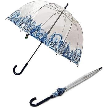 フルトン Fulton L042 028292 Birdcage-2 London Icons バードケージ ビニール傘 長傘 エリザベス女王ご愛用モデル 鳥かごのようなドーム型のフォルムが魅力的なアンプレラ [並行輸入品]