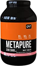 QNT Metapure Zero Carb 1000 g Strawberry and Banana Lean Muscle Growth Shake Powder Estimated Price : £ 36,20
