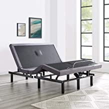 Naomi Home idealBase Adjustable Massage Bed Base Wireless Remote Twin XL/Gray