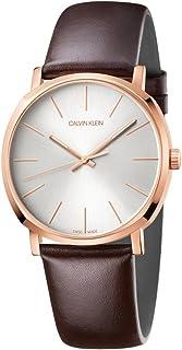Calvin Klein Posh K8Q316G6 Leather Analog Casual Watch for Men