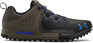 Under Armour Men's Syncline Edge Fishing Sneaker, Mountain Brown (200)/Black, 12.5 M US