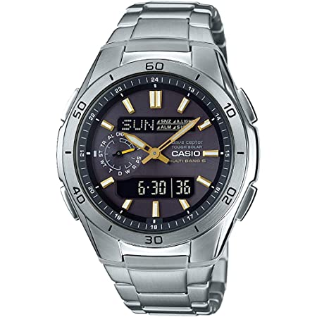 [カシオ] 腕時計 ウェーブセプター 電波ソーラー WVA-M650D-1A2JF メンズ シルバー