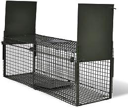 vidaXL Attrape à Animaux avec 2 Portes Piège d'animaux Cage Capture d'animaux