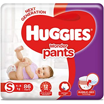 Huggies Wonder Pants, Small Size Diapers, 86 Count