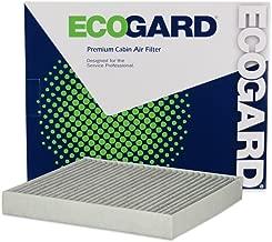 ECOGARD XC10463C Premium Cabin Air Filter with Activated Carbon Odor Eliminator Fits Audi A3 Quattro 2015-2019, A3 2015-2019, S3 2015-2019, TT Quattro 2015-2019, A3 Sportback e-tron 2016-2017