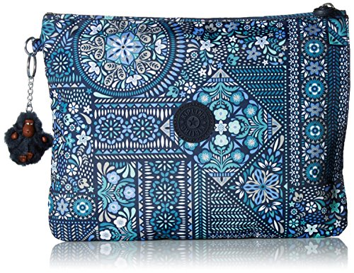Kipling - Pochette da donna, taglia unica, Blu (Blu scuro), Taglia unica