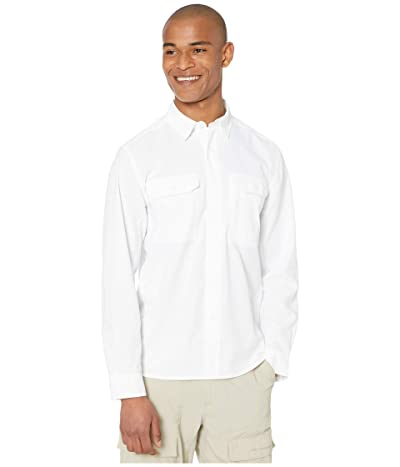 Royal Robbins Global Expedition Long Sleeve Shirt (White) Men