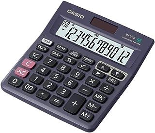 Casio MJ-120DPLUS-BUWDPW Digital Mini Desktop Calculator - Black
