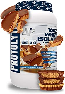 Sponsored Ad - VMI Sports Protolyte Whey Isolate Protein Powder, 1.6 Pounds, Chocolate Peanut Butter