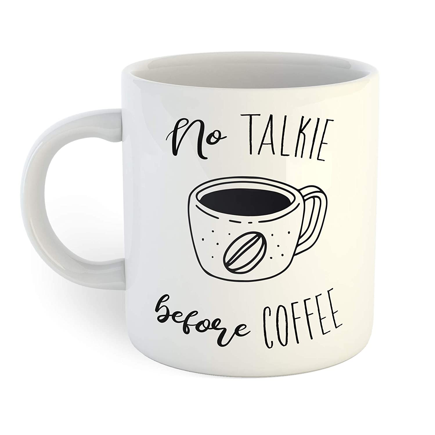 No Talkie Before Mug Coffee Fixed Max 71% OFF price for sale