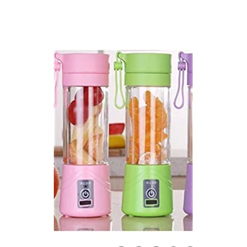 Bird In Blue Portable USB Electric Juicer with Sipper (Multicolour)
