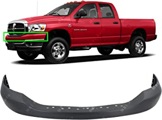 BUMPERS THAT DELIVER - Primered, Front Bumper Cover Top Pad for 2006-2009 Dodge RAM 1500 2500 3500 06-09, CH1014100