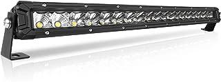 Rigidhorse 22 Inch LED Light Bar Single Row Flood & Spot Beam Combo 20000LM Off Road LED Light Bar Driving Light for Jeep Pickup SUV ATV UTV Truck Roof Bumper