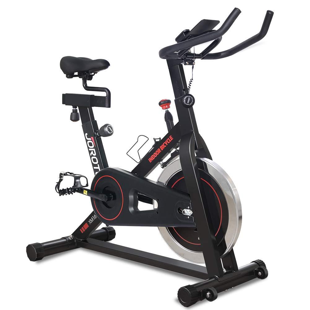 JOROTO Bicicleta de ciclismo para interiores con resistencia ...