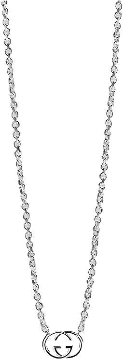 Gucci - 45cm Silver Britt Necklace