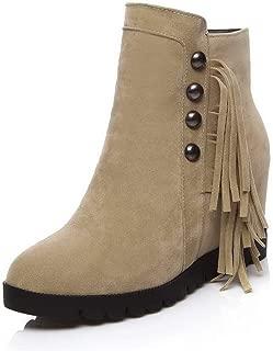 BalaMasa Womens ABS13904 Pu Boots